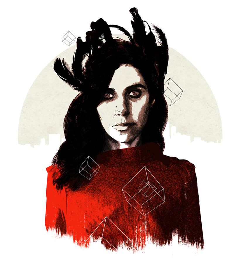 Yorokobu // Rock´n´Draw / PJ Harvey 0