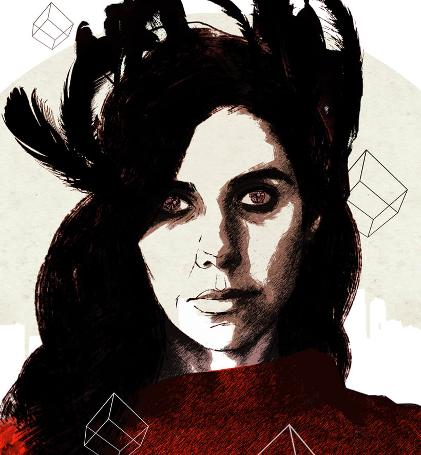 Yorokobu // Rock´n´Draw / PJ Harvey 1