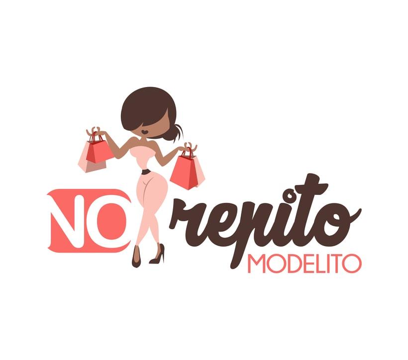 Logotipo No Repito Modelito -1