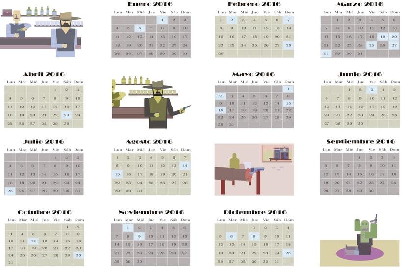 Loco West Calendario 1