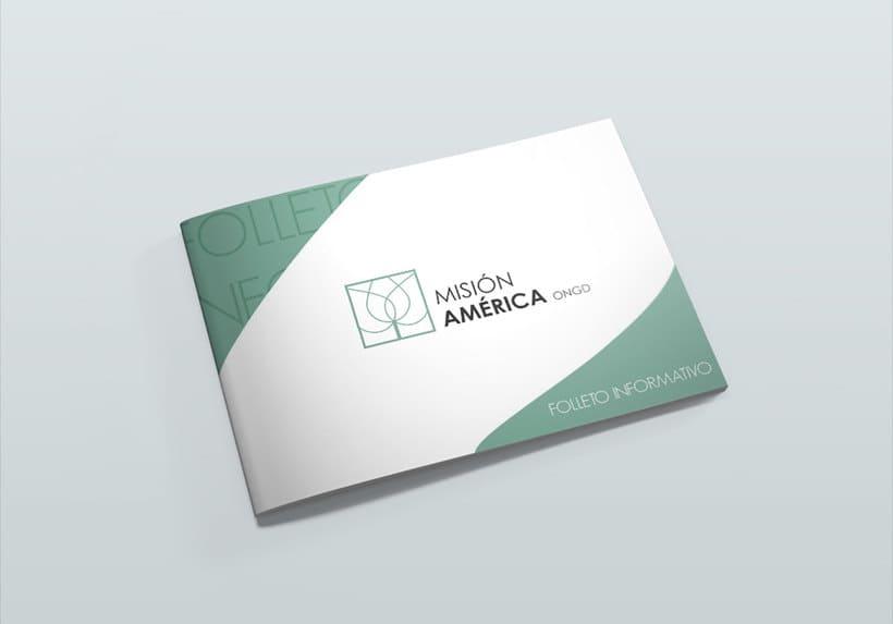 Diseño Corporativo - ONG Misión América 2