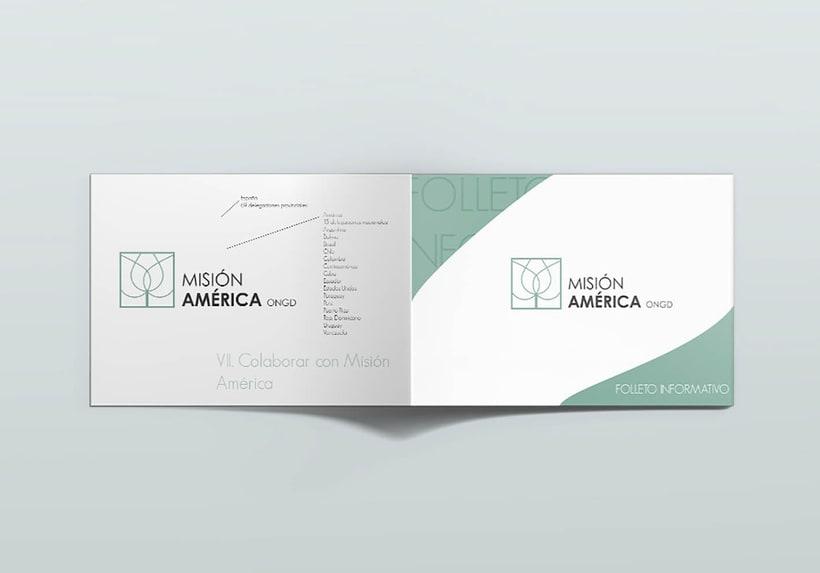 Diseño Corporativo - ONG Misión América 3