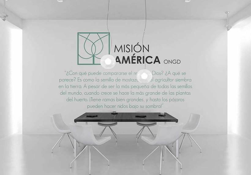 Diseño Corporativo - ONG Misión América 6