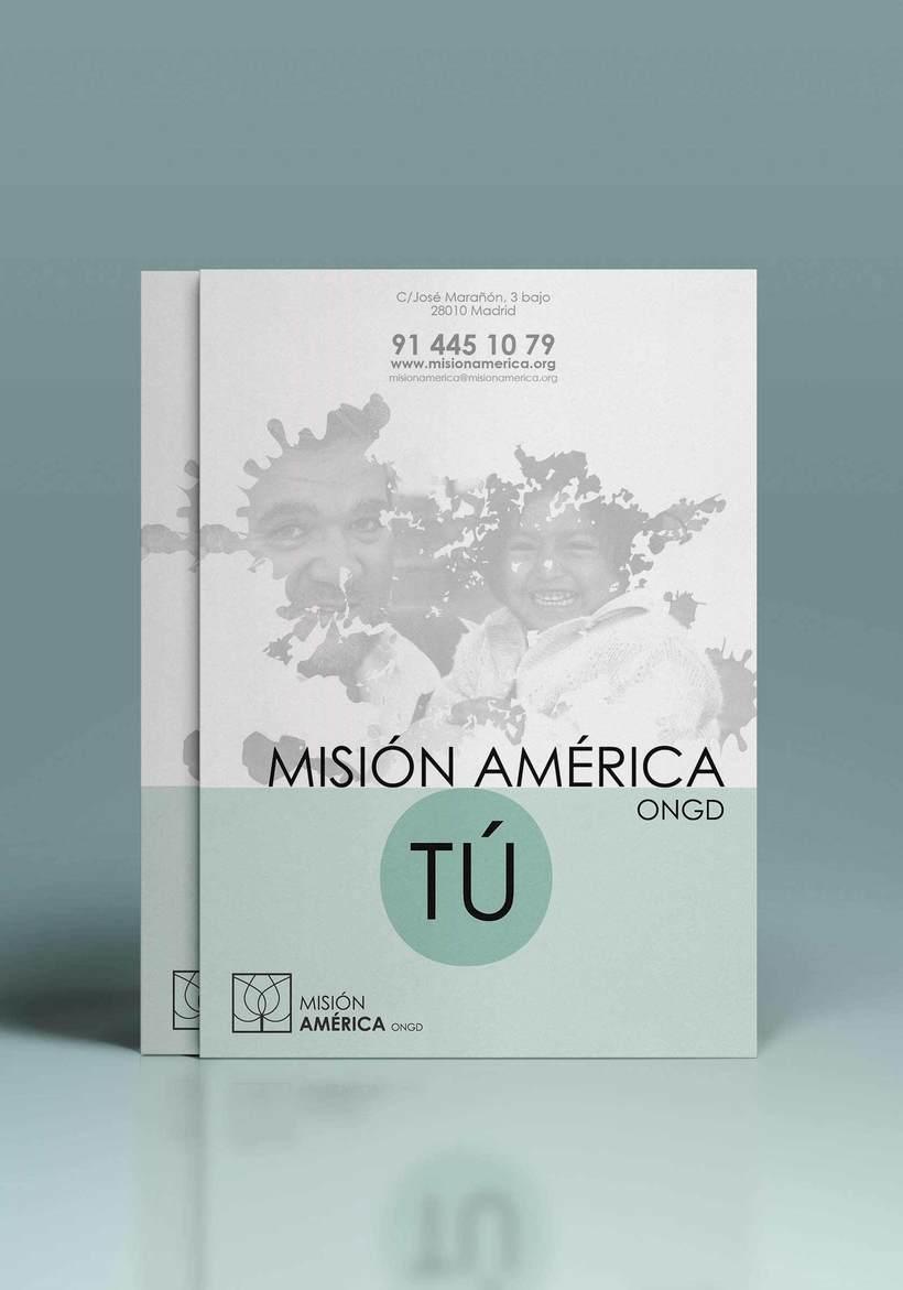 Diseño Publicitario - ONG Misión América 1