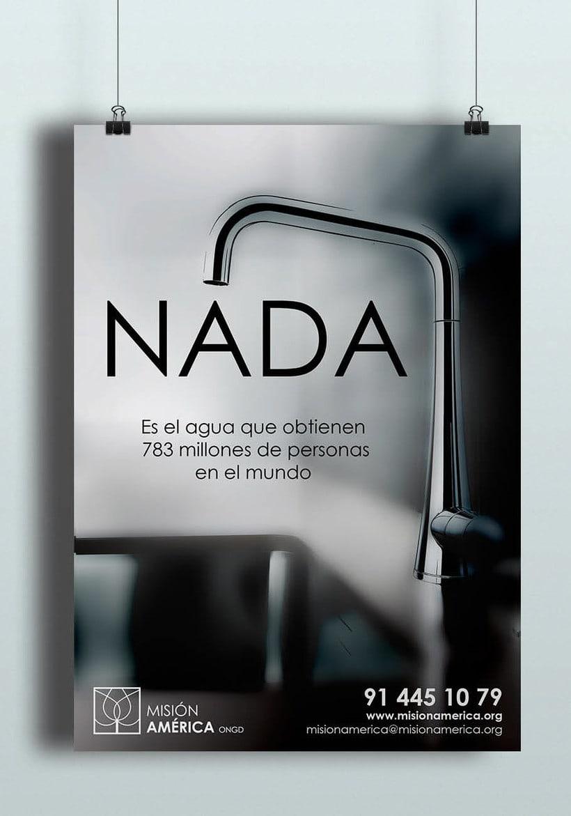 Diseño Publicitario - ONG Misión América 2