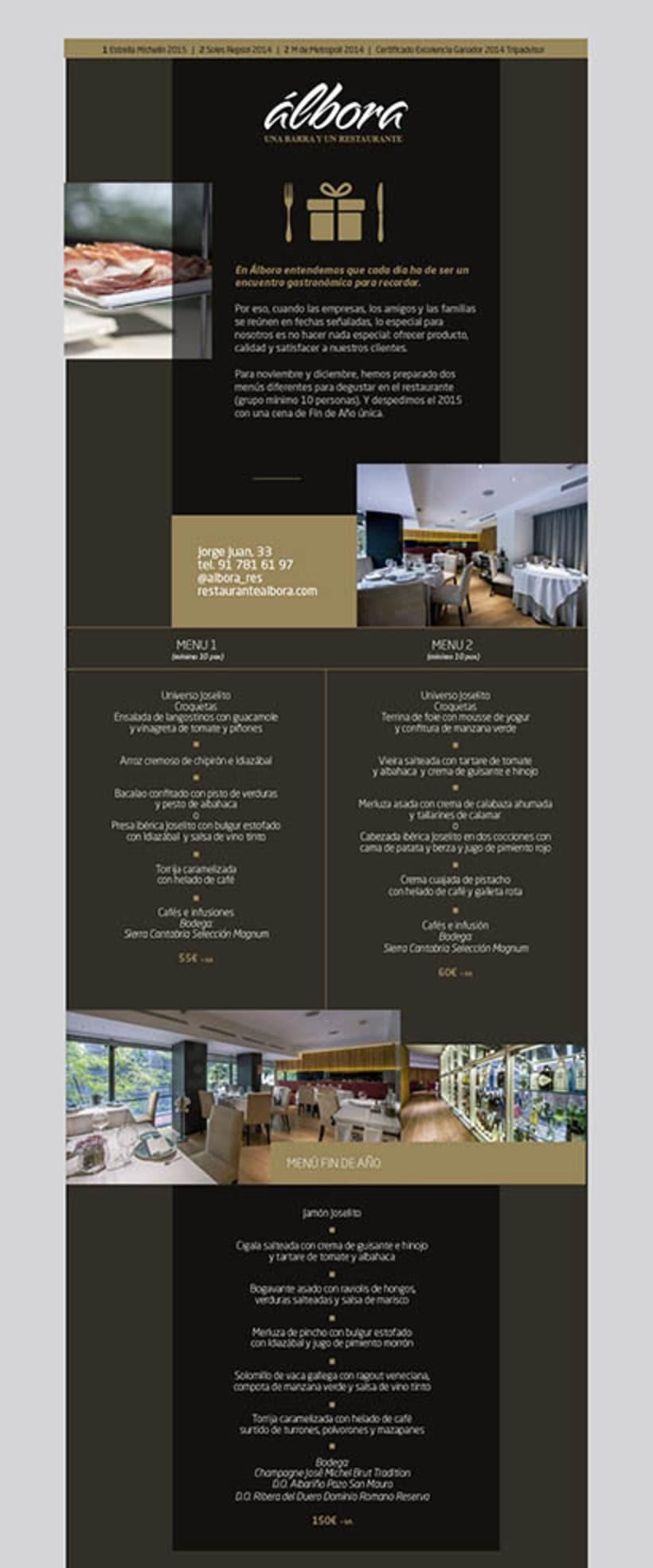 Diseño Newsletter - Álbora 5