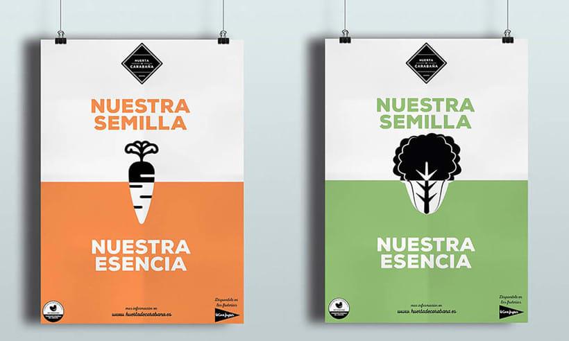 Diseño Publicitario - Huerta de Carabaña 1