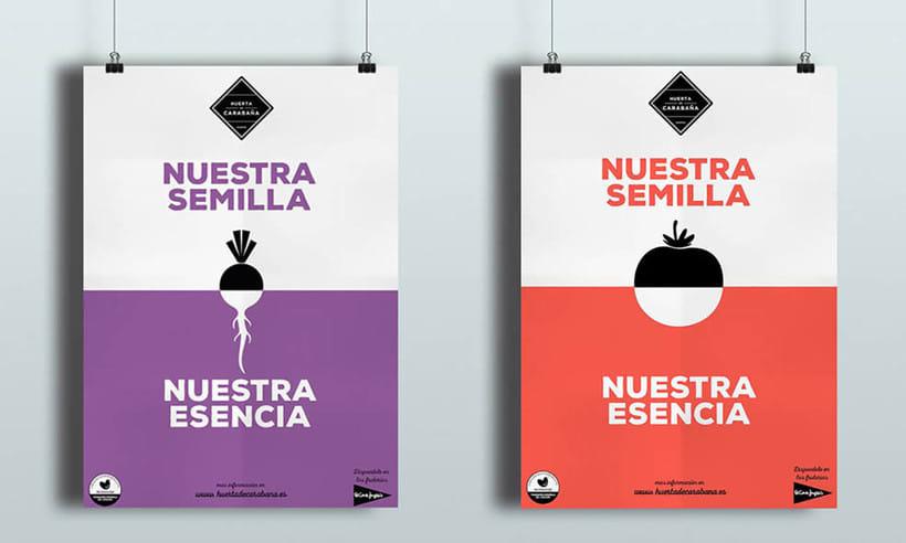 Diseño Publicitario - Huerta de Carabaña 2