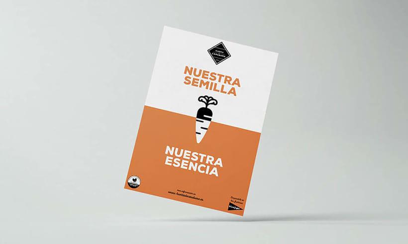 Diseño Publicitario - Huerta de Carabaña 3