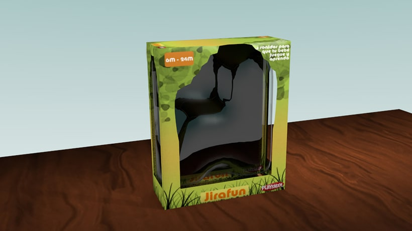 Diseño Packaging - Playskool 2