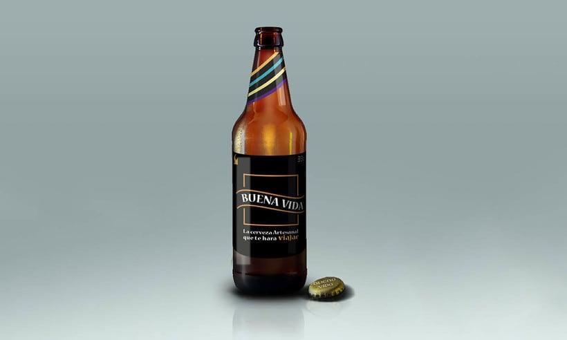 Diseño Packaging - Cerveza artesanal 1