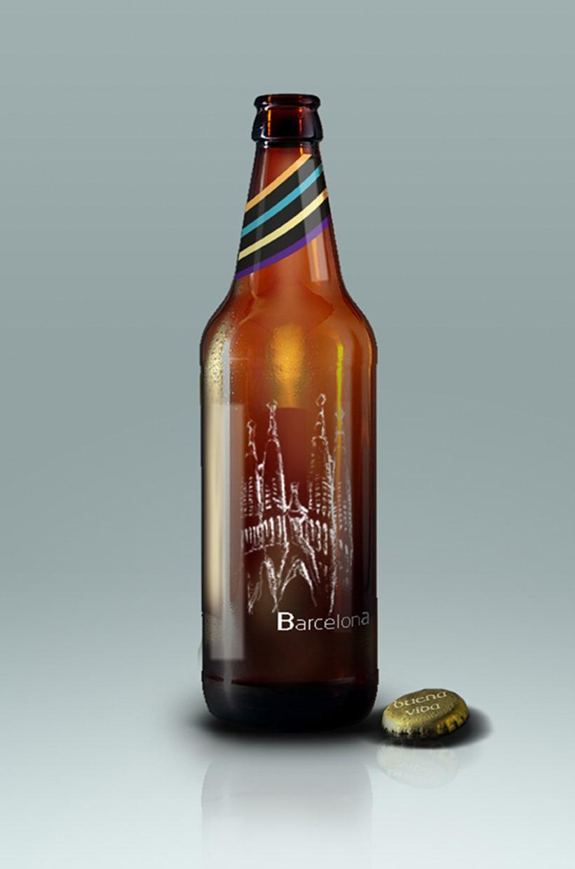Diseño Packaging - Cerveza artesanal 2