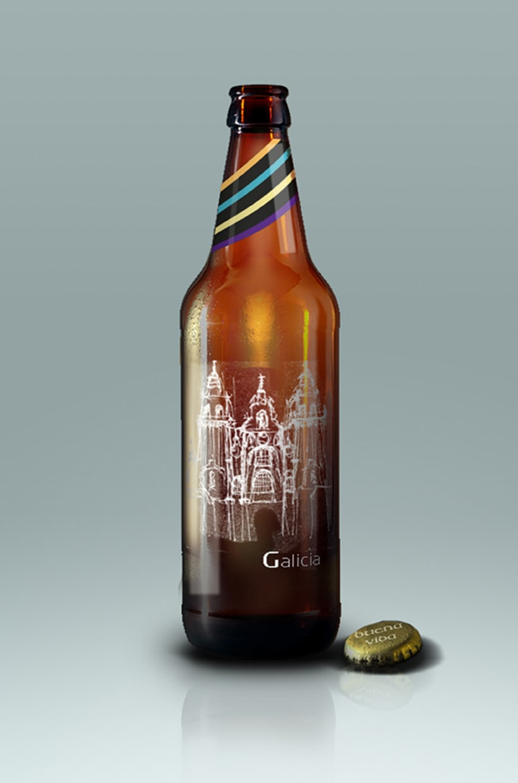 Diseño Packaging - Cerveza artesanal 5