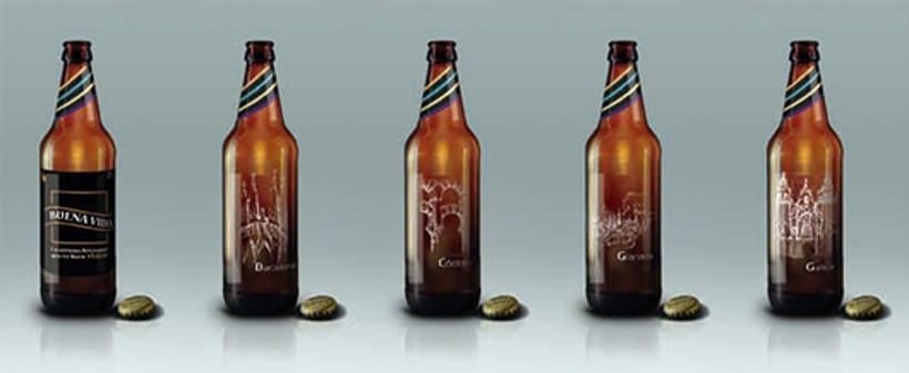 Diseño Packaging - Cerveza artesanal 6