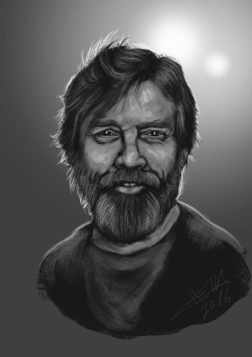 Mark Hamill - Fast Paint -1