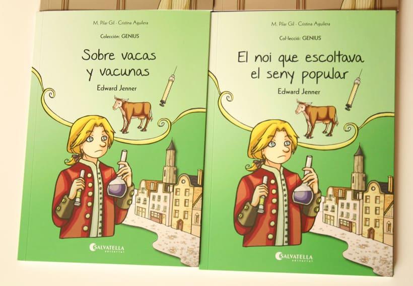 Colección GENIUS vol.4 Sobre vacas y vacunas 1
