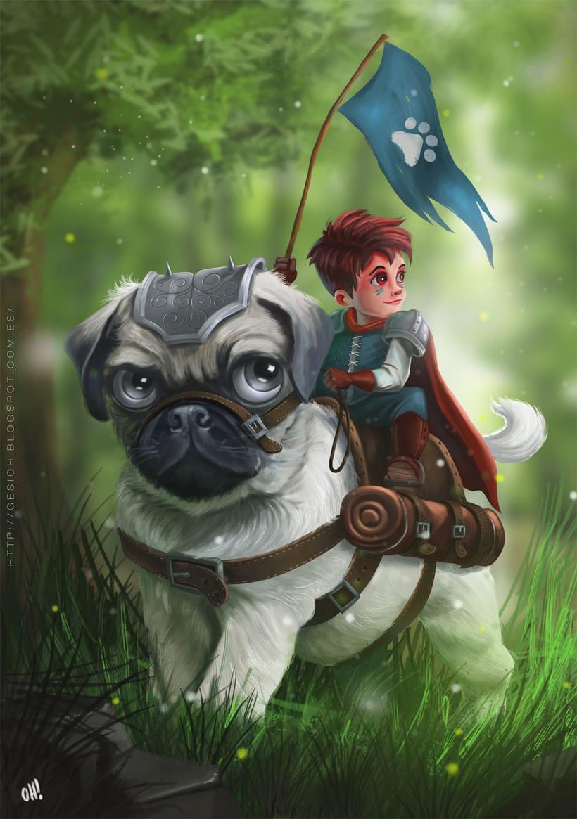 Pug Adventure -1