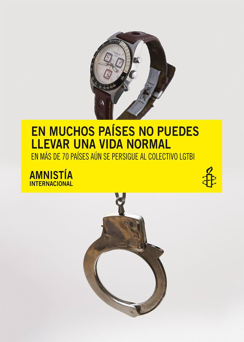 Campaña captación socixs entre el colectivo LGTBI para Amnistía Internacional  8