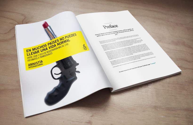 Campaña captación socixs entre el colectivo LGTBI para Amnistía Internacional  9