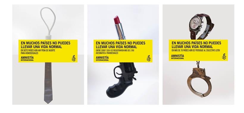 Campaña captación socixs entre el colectivo LGTBI para Amnistía Internacional  7