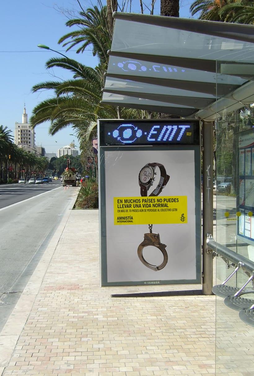 Campaña captación socixs entre el colectivo LGTBI para Amnistía Internacional  10