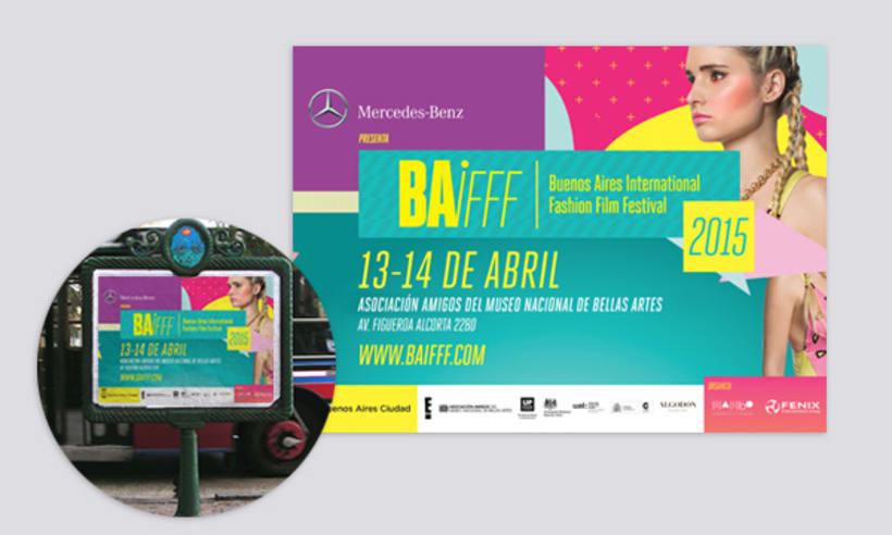 Buenos Aires International Fashion Film Festival BAIFFF 2015 1