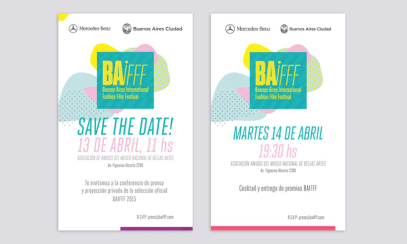 Buenos Aires International Fashion Film Festival BAIFFF 2015 2