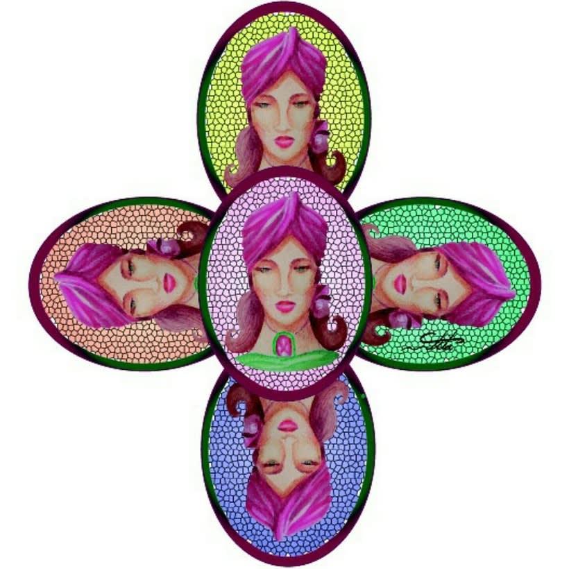 ilustración realizada con técnicas mixtas (acuarela,lápiz, acrilico) ilustrator -1