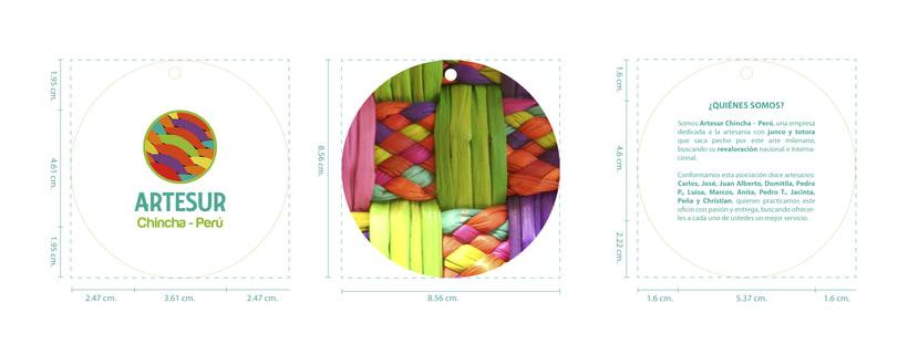 ARTESUR - handcraft branding 10