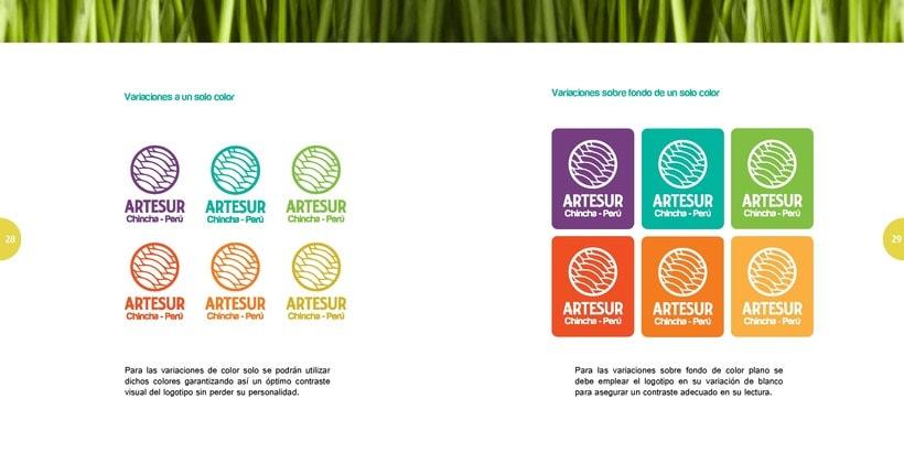 ARTESUR - handcraft branding 8