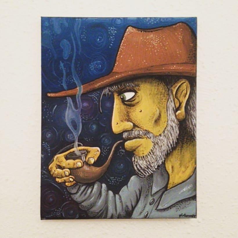 Fumant la pipa 0