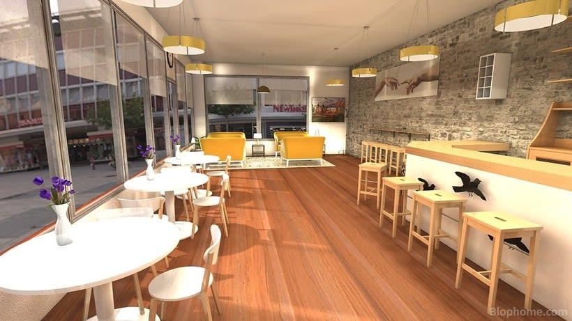 Diseño Cafetería 0