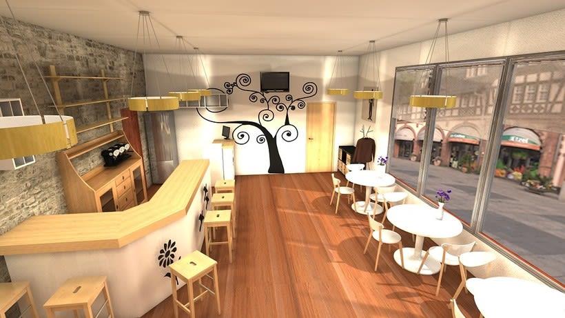 Diseño Cafetería 1