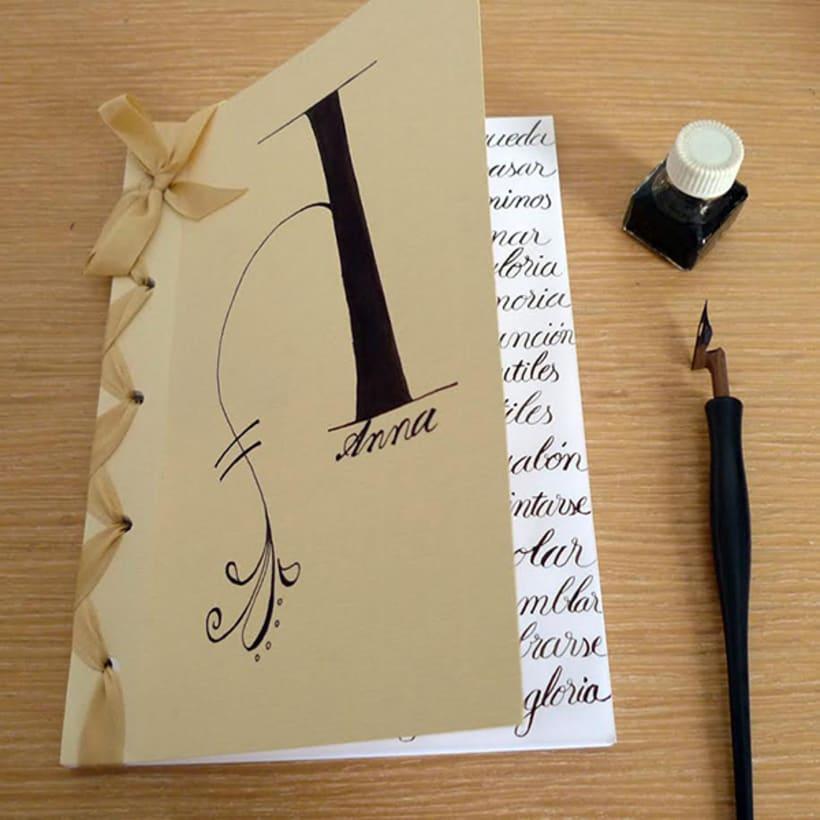 Caligrafía y illustración -1