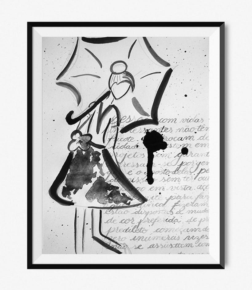 Caligrafía y illustración 1