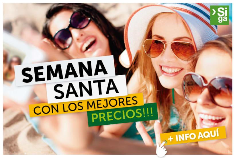 """Piezas Gráficas para """"SIGA Turismo"""" 2016 5"""