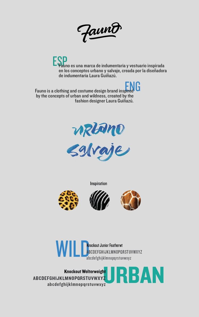 Fauno - Branding 1