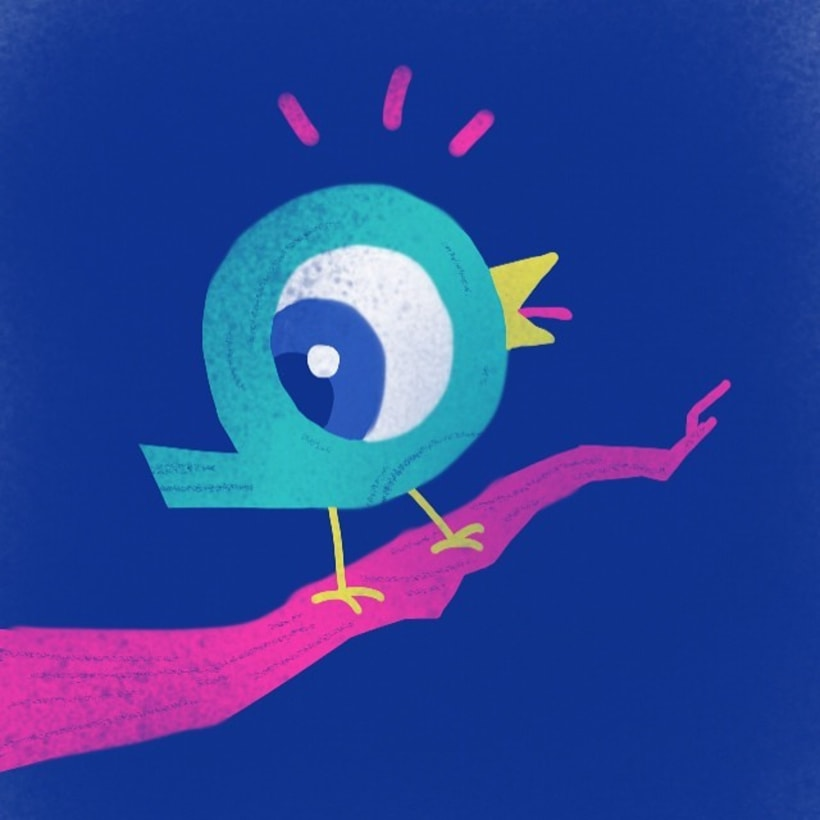 Ilustraciones con un dedo y una app 1