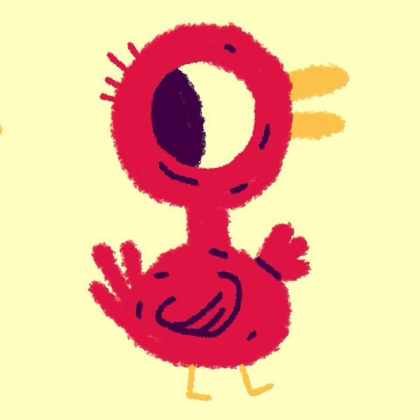 Ilustraciones con un dedo y una app 6