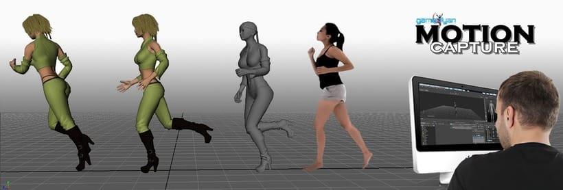 Estudio de Animación de Captura de Movimiento 3
