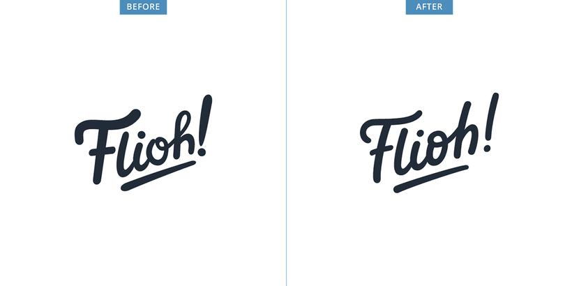 Flioh - Logo redesign 1