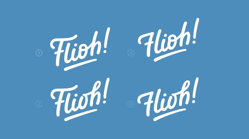 Flioh - Logo redesign 2