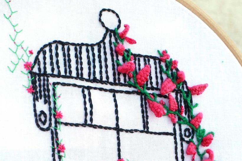 Bordando un balcón para Revista Kireei Cosas Bellas 9