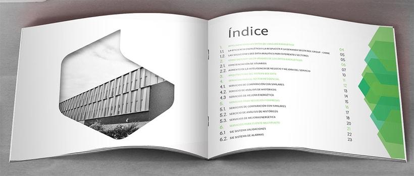 Catálogo de empresa, imagen corporativa y expositores para ferias 2