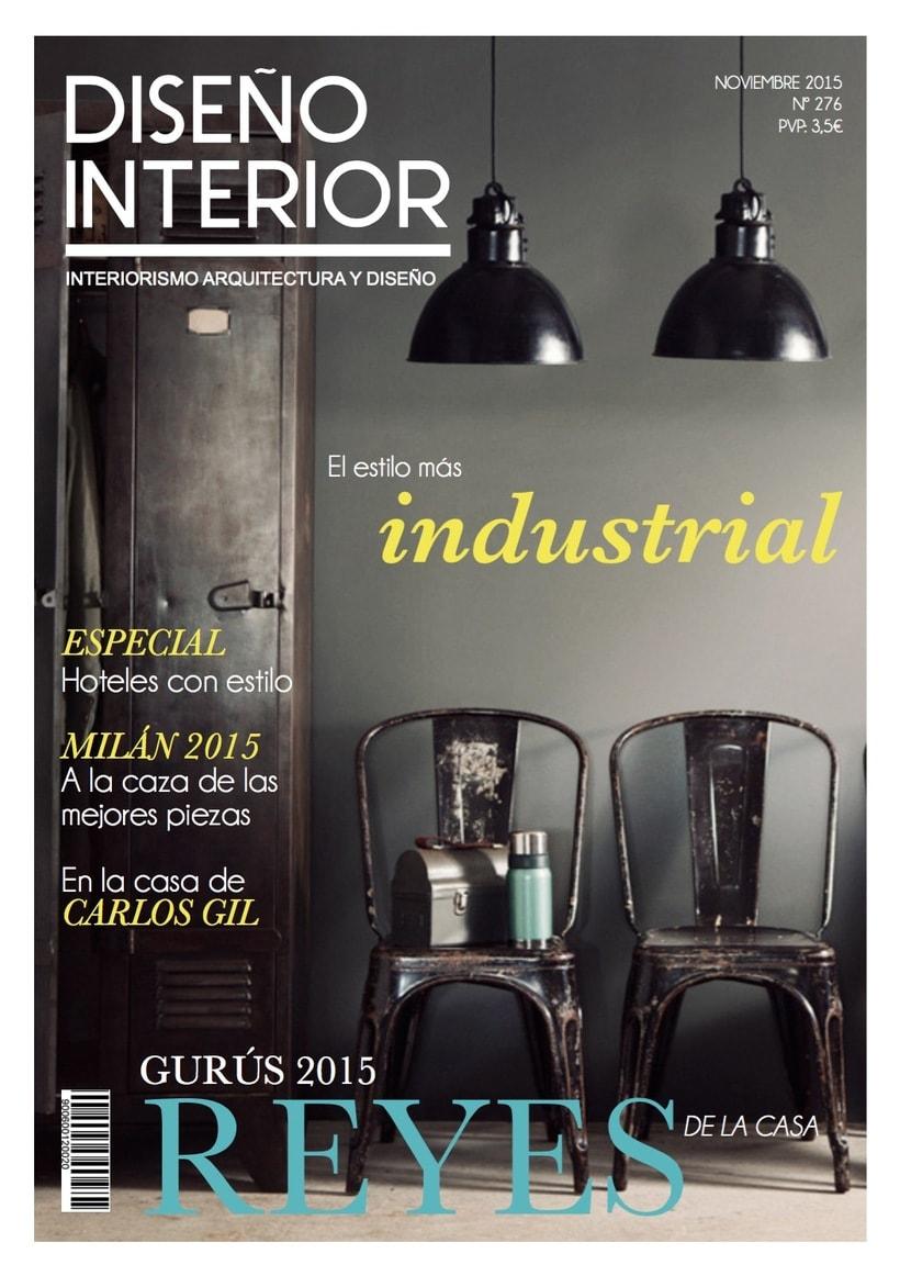 """Rediseño revista """"Diseño Interior"""" (Propuesta) -1"""
