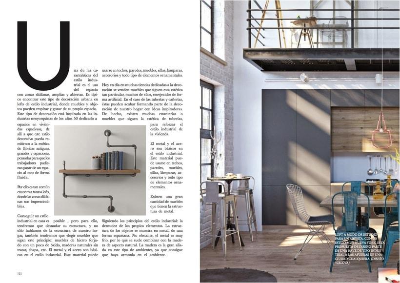 """Rediseño revista """"Diseño Interior"""" (Propuesta) 0"""