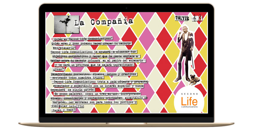 Identidad corporativa, diseño web y marketing - SECONDLIFECOMMUNICATIONS 2