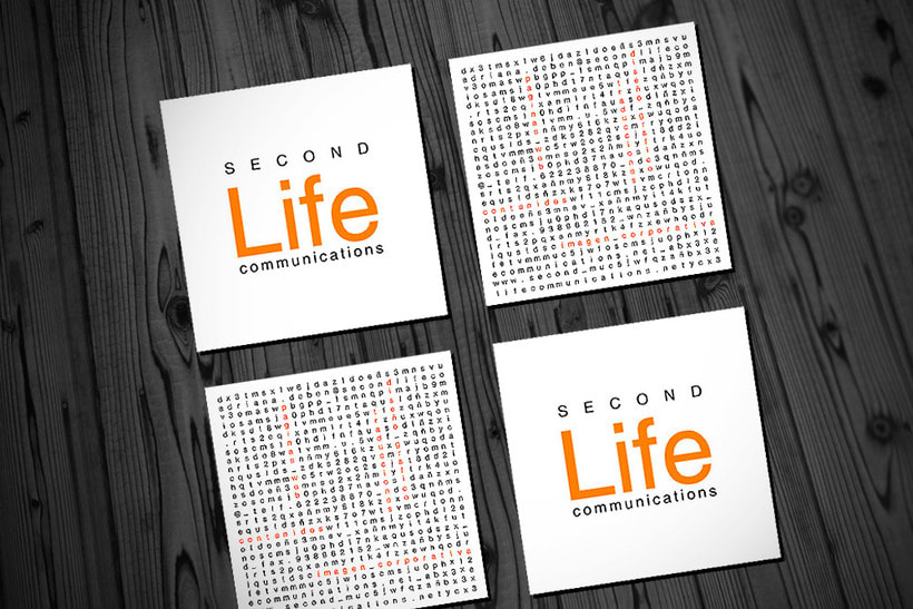 Identidad corporativa, diseño web y marketing - SECONDLIFECOMMUNICATIONS 7