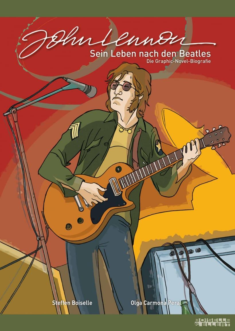 """""""John Lennon. Sein Leben Nach Den Beatles"""" 0"""