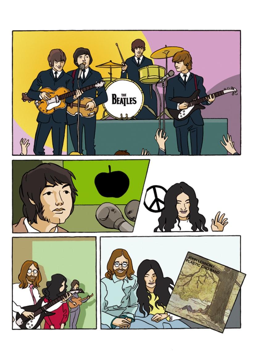 """""""John Lennon. Sein Leben Nach Den Beatles"""" 2"""
